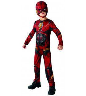 Klassiek Flash Justice League Actieheld Kind Kostuum