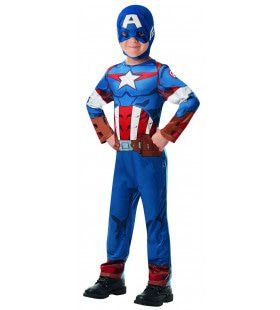 Superheld Captain America Classic Jongen Kostuum