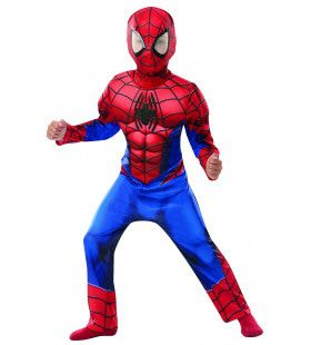 Spider-Man Deluxe Spinneman Kind Kostuum