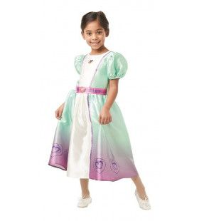 Beeldschone Ridder Prinses Nella Meisje Kostuum