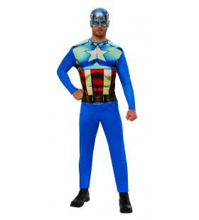Supersterke Captain America Film Man Kostuum