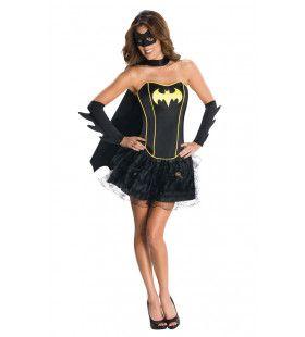 Batgirl Superheld Korset Jurk Vrouw