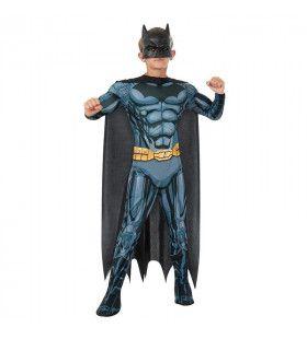 Batman Dc Comics Deluxe Superheld Jongen Kostuum