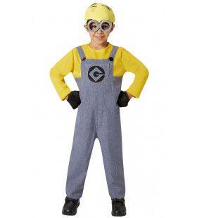 Compleet Minion Dave Despicable Me Verschrikkelijke Ikke Kind Kostuum