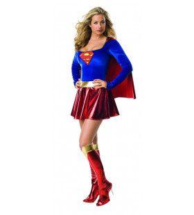 Supergirl Supersterke Superheldin Vrouw Kostuum