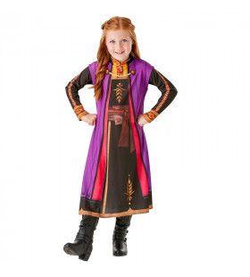 Fantastische Anna Prinses Van Arendelle Frozen Meisje Kostuum