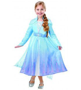 Dansend Op Het IJs Elsa Frozen Deluxe Meisje Kostuum