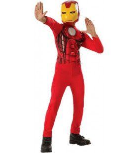 Iron Man Maakt De Wereld Een Stukje Veiliger Jongen Kostuum