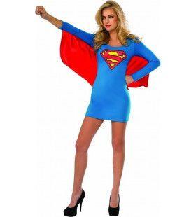 Uitdagende Girl Of Steel Supergirl Vrouw Kostuum