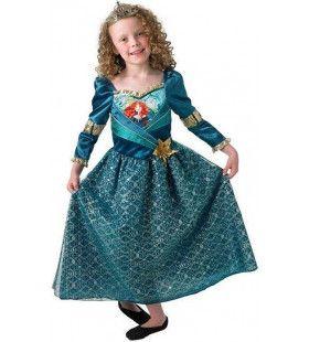 Brave Pijl En Boog Snelle Merida Meisje Kostuum
