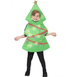 Vrolijk Dansende Kerstboom Kostuum