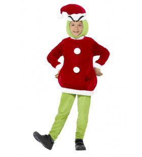 Jim The Grinch Film Jongen Kostuum
