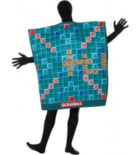 Scrabble Bord Man Kostuum