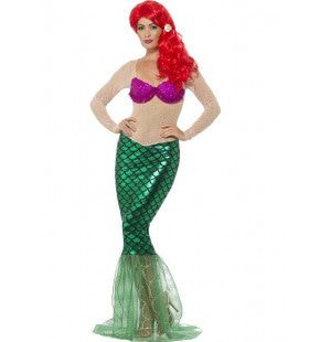 Zonder Meer Het Mooiste Zeemeermin Vrouw Kostuum