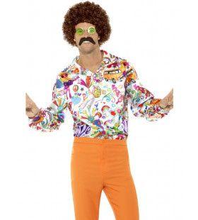 Scott Mckenzie Flower Power Shirt Man