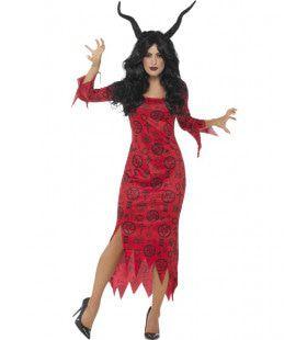 Occulte Valse Duivelin Vrouw Kostuum