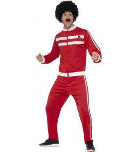 Fout Voetbal Supporter Trainingspak Man Kostuum