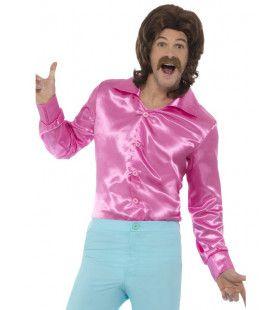 Lekker Krap Roze Jaren 70 Disco Man