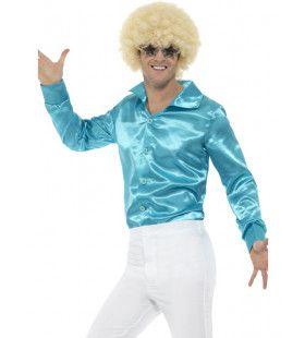 Lekker Krap Blauw Jaren 70 Disco