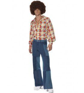 Gouden Jaren Zeventig Retro Soul Man Kostuum