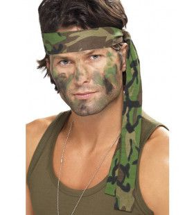Camouflage Hoofdband Jungle Commando 150 X 4 Centimeter