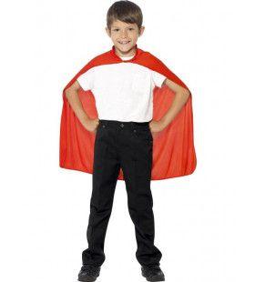 Rode Cape Avontuurlijke Held Kind