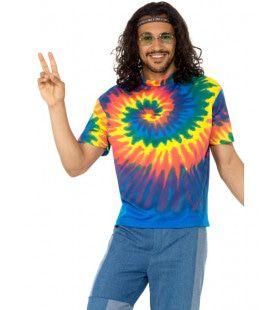 Hippie Tie Dye T-Shirt Manfred