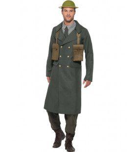 Britse Soldaat Tweede Wereldoorlog Man Kostuum