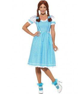 Kansas Country Girl Boerenmeid Vrouw Kostuum