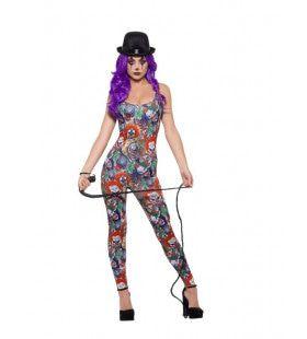 Vol Enge Clowns Bodysuit Vrouw Kostuum