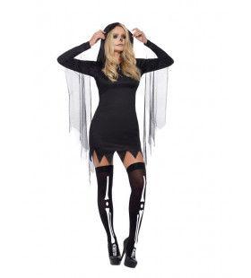 Sexy Moedertje Dood Vrouw Kostuum