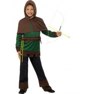 Robin Hood De Nobele Bandiet Jongen Kostuum