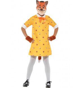 Kleine Sluwe Vos Meisje Kostuum