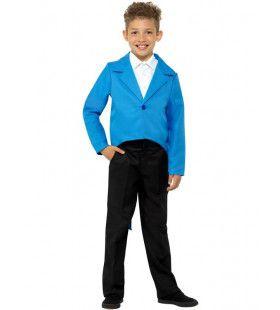 Rokkostuum Dirigent Blauw Kind