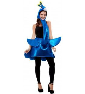 Prachtige Trotse Pauw Waaierstaart Vrouw Kostuum