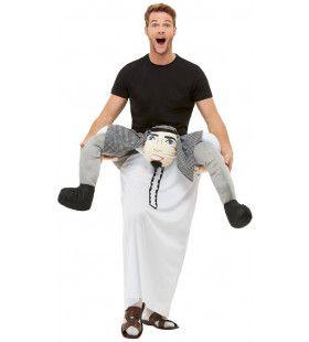 Op De Rug Van Een Arabische Sjeik Kostuum