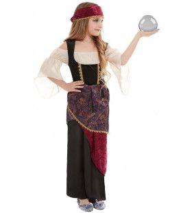 Waarzegster Zigeunerin Mooie Toekomst Meisje Kostuum
