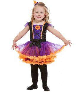 Schone Pompoen Heks Halloween Meisje Kostuum
