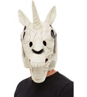 Zeldzaam Uniek Eenhoorn Schedel Masker