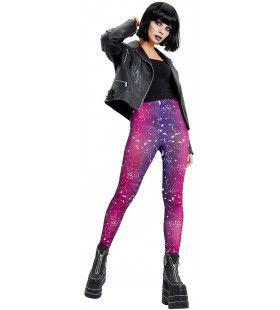 Galactische Legging Eindeloze Sterrenhemel Vrouw