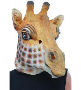 Latex Masker Angola Giraffe Kostuum