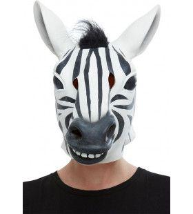 Gezellige Herkauwende Zebra Masker