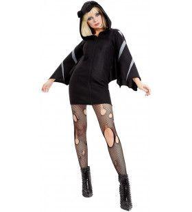 Vleermuis Duistere Nachten Vrouw Kostuum