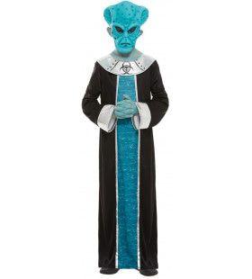 Buitenaards Wezen Alien Kind Kind Kostuum