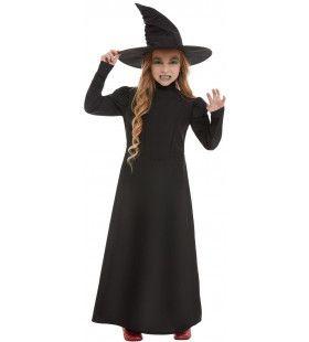 Toverkol Zwarte Magie Meisje Kostuum