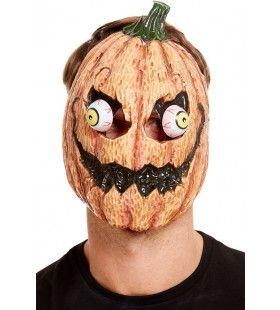 Pompoen Masker Met Rollende Ogen