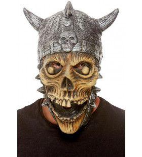 Viking Schedel Met Helm Masker