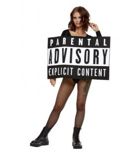 Parental Advisory Bord Kostuum