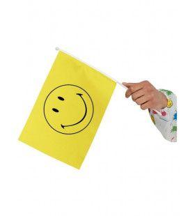 Gele Smiley Vlaggetjes