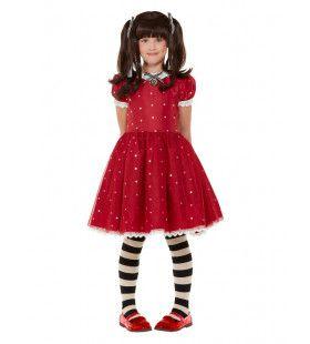 Santoro Pop Ruby Rood Meisje Kostuum